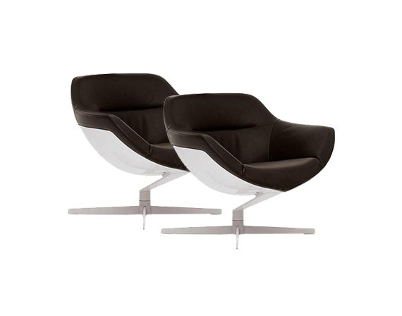 Set 2 277 Auckland Armchair, Cassina