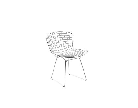Bertoia Side Chair (steel), Knoll