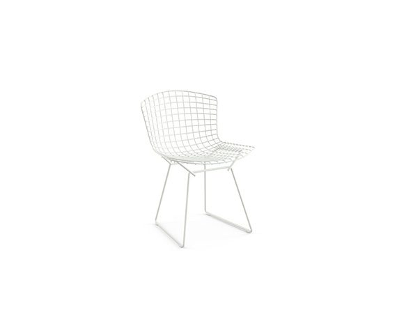 Bertoia Side Chair (bianco), Knoll