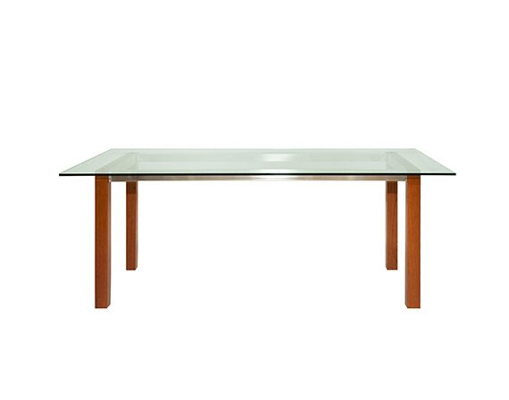 Puro table (cherry wood), Zanotta