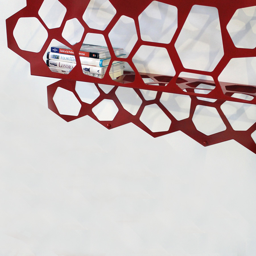 Mensola Hexagon, Nikla Steel Design - Deesup