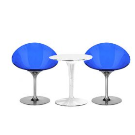 Set 2 Ero/S/ and TipTop table, Kartell - Deesup