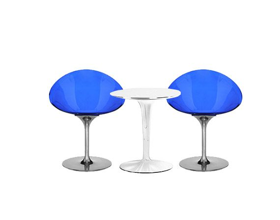 Set 2 Ero/S/ and TipTop table, Kartell