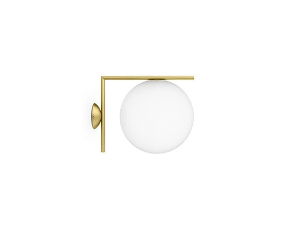 IC Lights Ceiling/Wall 2 (ottone), Flos