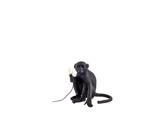 The Monkey Lamp (Sitting Black), Seletti
