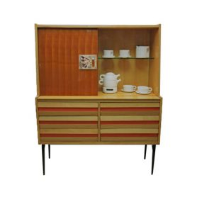 1950s ceramic tile highboard, Deesup