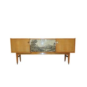 1950s decorated sideboard - Deesup